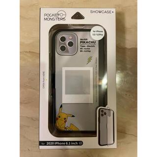 iPhone - iPhone12/12Pro  ピカチュウ スケルトンケース(ブラック) 新品
