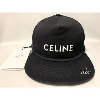 celine - 新品【 CELINE セリーヌ 】ロゴ キャップ ブラック M