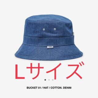 W)taps - Lサイズ Wtaps 21ss bucket 01 hat デニム