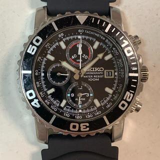 セイコー(SEIKO)のセイコー ダイバー クロノグラフ腕時計ジャンク(腕時計(アナログ))