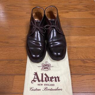 Alden - オールデン コードバン チャッカブーツ