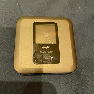 富士通 - FS030W WiFiモバイルルーター 本体 /バッテリー /USBケーブル