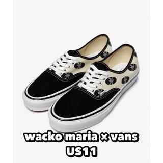 ワコマリア(WACKO MARIA)のwacko maria × vans ワコマリア バンズ スニーカー(スニーカー)