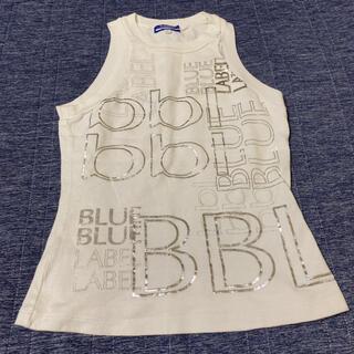 バーバリーブルーレーベル(BURBERRY BLUE LABEL)のBURBERRYBLUELABEL タンクトップ ノースリーブ(タンクトップ)