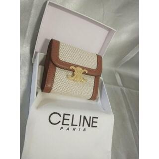 celine - 美品✴︎CELINEフラップウォレット(トリオンフ) ミニ財布