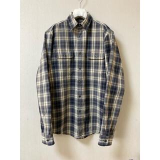 RRL - RRL checked work shirt S チェック ワーク シャツ