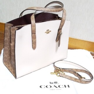 COACH - COACH チャーリーキャリーオール新品未使用