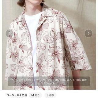 ハレ(HARE)のemma clothes エマクローズ 柄シャツ(シャツ)