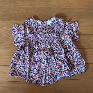 ザラキッズ(ZARA KIDS)のzarababy 花柄トップス(Tシャツ)