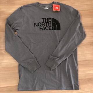 ザノースフェイス(THE NORTH FACE)のノースフェイス ロングTシャツ グレー(Tシャツ/カットソー(半袖/袖なし))