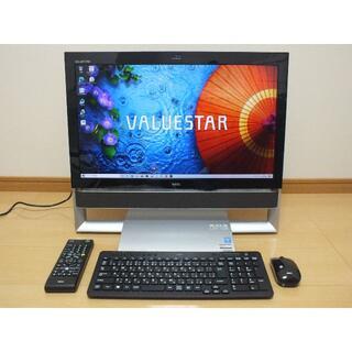 NEC - NEC一体型デスクトップパソコン VN770SSB-E3 ウイン10 23インチ