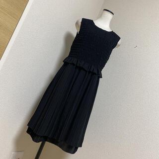 ダブルスタンダードクロージング(DOUBLE STANDARD CLOTHING)の新品同様ダブルスタンダードクロージング(ひざ丈ワンピース)