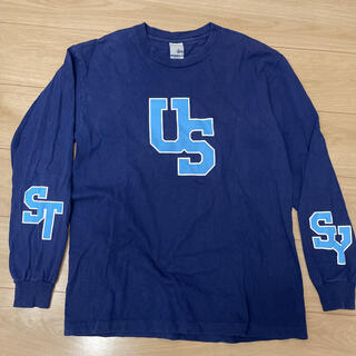 STUSSY - L size stussy long sleeve T made in USA