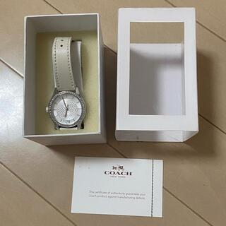 COACH - coach 腕時計 ホワイト