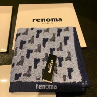 レノマ(RENOMA)のrenoma PARIS レノマ タオルハンカチ ミニタオル ハンドタオル(ハンカチ/ポケットチーフ)
