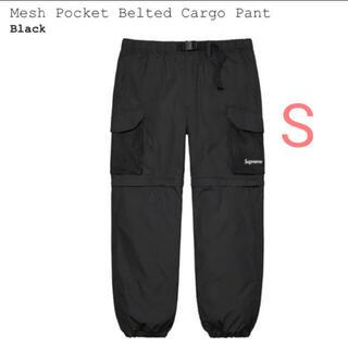 シュプリーム(Supreme)のSupreme Mesh Pocket Belted Cargo Pant S(ワークパンツ/カーゴパンツ)