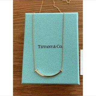 Tiffany & Co. - Tiffany&Co Tスマイルネックレス    Tiffanyネックレス
