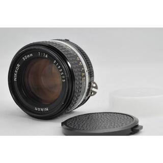 ニコン(Nikon)の極美品 Nikon Ai-s NIKKOR 50mm F1.4 #A033(レンズ(単焦点))
