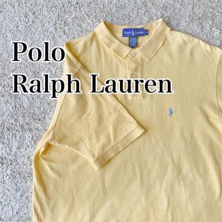 POLO RALPH LAUREN - 【良品】USA古着 ポロラルフローレン 半袖ポロシャツ イエロー