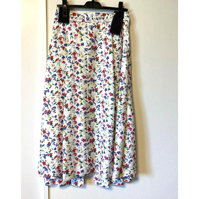 TSURU by Mariko Oikawa(ツルバイマリコオイカワ)の【7/31で終了・タグ付き】SHE Tokyo ロングスカート 38 レディースのスカート(ロングスカート)の商品写真