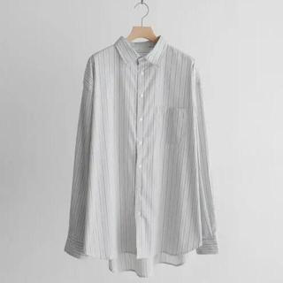ハレ(HARE)のremer リメール ルーズベーシックシャツ ストライプ s(シャツ)