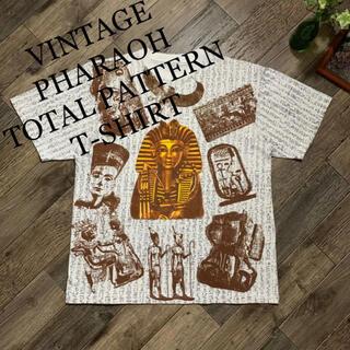 アートヴィンテージ(ART VINTAGE)のVINTAGE PHARAOH TOTAL PATTERN T-SHIRTセール(Tシャツ/カットソー(半袖/袖なし))