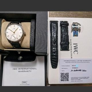 インターナショナルウォッチカンパニー(IWC)のIWC ポルトギーゼ 40  Ref IW 358303 白文字盤 金針(腕時計(アナログ))