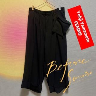 ヨウジヤマモト(Yohji Yamamoto)のヨウジヤマモト★FD-P18-102 スラックス パンツ ズボン★ワイズ/Y's(その他)