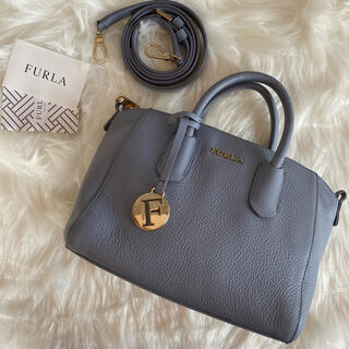 Furla - 【美品】フルラ テッサ 2way ハンドバッグ ミニバッグ チャーム レザー