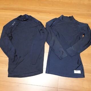 ミズノ(MIZUNO)のm.k9791様専用 ミズノ他野球用アンダーシャツ160センチネイビー2枚セット(ウェア)