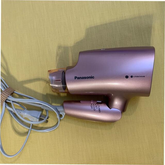 Panasonic(パナソニック)のPanasonic ナノイーヘアドライヤー スマホ/家電/カメラの美容/健康(ドライヤー)の商品写真