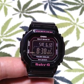 ベビージー(Baby-G)の電波ソーラー 腕時計 CASIO Baby-G bgd-5000 ブラック(腕時計)