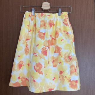 バナーバレット(Banner Barrett)の新品 Banner Barrett 花柄スカート(ひざ丈スカート)