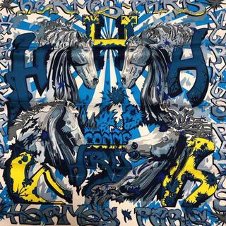 Hermes - 【未使用】エルメス カレ 70 エルメスのH ブルー スカーフ