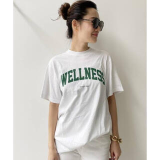 L'Appartement DEUXIEME CLASSE - 【SPORTY&RICH/スポーティアンドリッチ】LOGO TEE Tシャツ