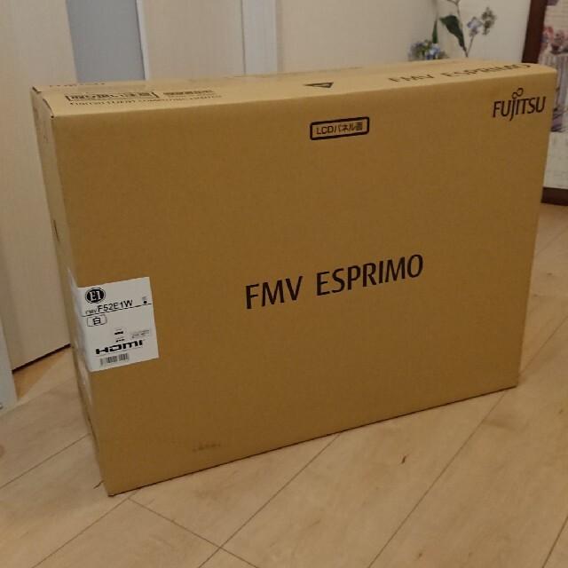 富士通(フジツウ)の富士通 FMV ESPRIMO FMVF52E1W 新品未使用 スマホ/家電/カメラのPC/タブレット(デスクトップ型PC)の商品写真