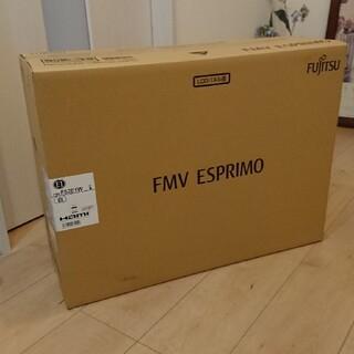 フジツウ(富士通)の富士通 FMV ESPRIMO FMVF52E1W 新品未使用(デスクトップ型PC)
