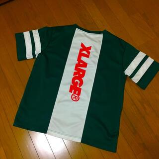 XLARGE - 【XLARGE】エクストララージ 厚手ポリエステル ビックロゴ Tシャツ L