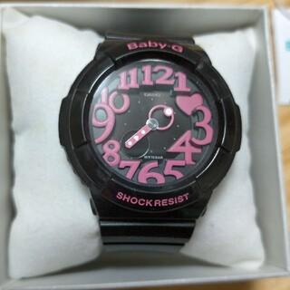 Baby-G - baby-G 黒 ピンク 腕時計