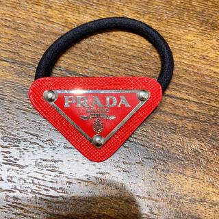 PRADA - 新品 PRADA  ヘアゴム レッド