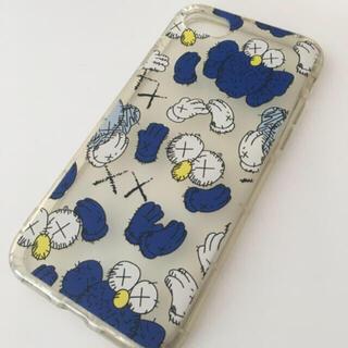 セサミストリート(SESAME STREET)のクッキーモンスター iPhone7 iPhone8 iPhoneSE2 ブルー(iPhoneケース)