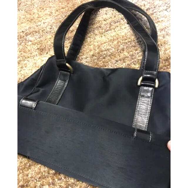 SAZABY(サザビー)のサザビー トートバッグ ネイビー♪ レディースのバッグ(トートバッグ)の商品写真