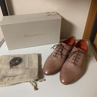 サントーニ(Santoni)の新品 Santoni サントーニ ドレスシューズ 革靴 サイズ40 1/2(ドレス/ビジネス)