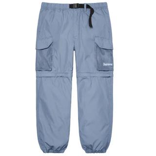 シュプリーム(Supreme)のSupreme Mesh Pocket Belted Cargo Pant L(ワークパンツ/カーゴパンツ)