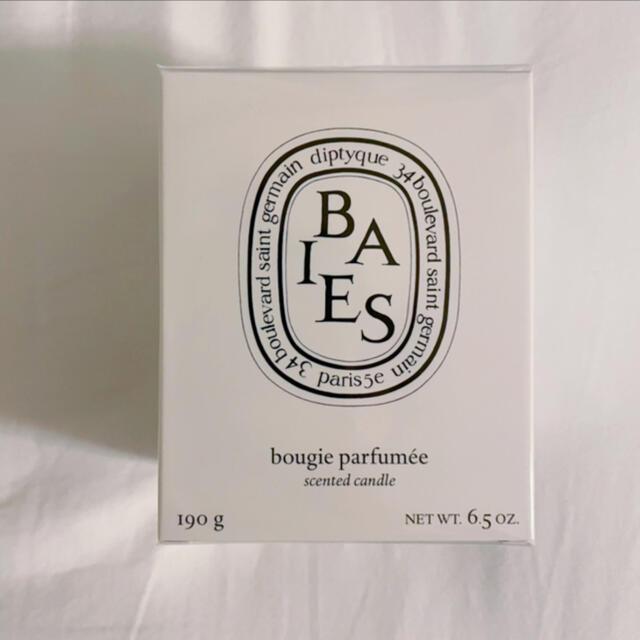 diptyque(ディプティック)のdiptyque BAIES キャンドル190g コスメ/美容のリラクゼーション(キャンドル)の商品写真