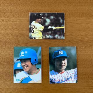 カルビー(カルビー)の1982〜1983年 プロ野球カード  河埜 杉浦 田淵 3枚セット(スポーツ選手)