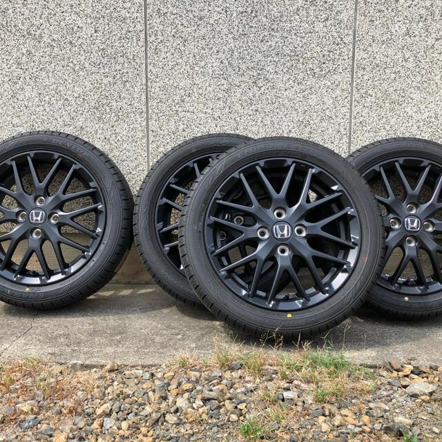 ホンダ(ホンダ)の新型N-ONE RS タイヤ・ホイール4本セット+ナット 自動車/バイクの自動車(タイヤ・ホイールセット)の商品写真