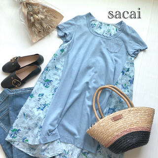 sacai - サカイ バックテールカットソー