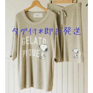 ジェラートピケ(gelato pique)のジェラートピケ  メンズ 半袖ルームウェア パジャマ カーキ(その他)