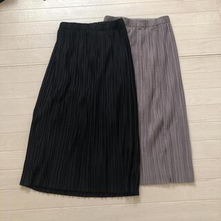 ユニクロ(UNIQLO)のUNIQLO プリーツロングスカート(ロングスカート)